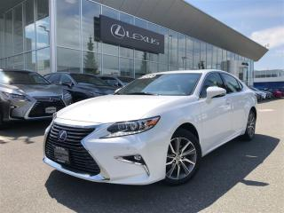 Used 2017 Lexus ES 300 h CVT Executive Package, Dealer Demo, Huge Savings for sale in North Vancouver, BC
