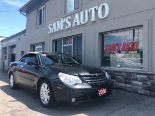 Used 2008 Chrysler Sebring 2dr Conv Limited FWD for sale in Hamilton, ON