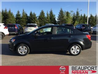 Used 2013 Chevrolet Sonic LS BERLINE ***15 500 KM*** for sale in Quebec, QC