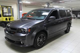 Used 2017 Dodge Grand Caravan GT PLUS *DVD/CUIR/CAMERA/GPS/PORTE EL* for sale in Saint-eustache, QC