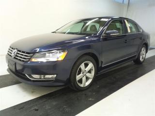Used 2012 Volkswagen Passat 2.0 TDI COMFRTLINE ~ LEATHER ~ 166KMS ~ SUNROOF ! for sale in Burlington, ON
