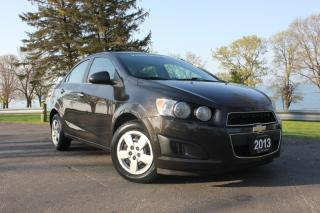 Used 2013 Chevrolet Sonic 4dr Sdn LT Auto for sale in Oshawa, ON