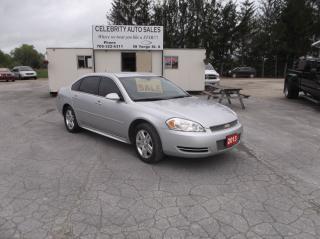 Used 2013 Chevrolet Impala LT for sale in Elmvale, ON