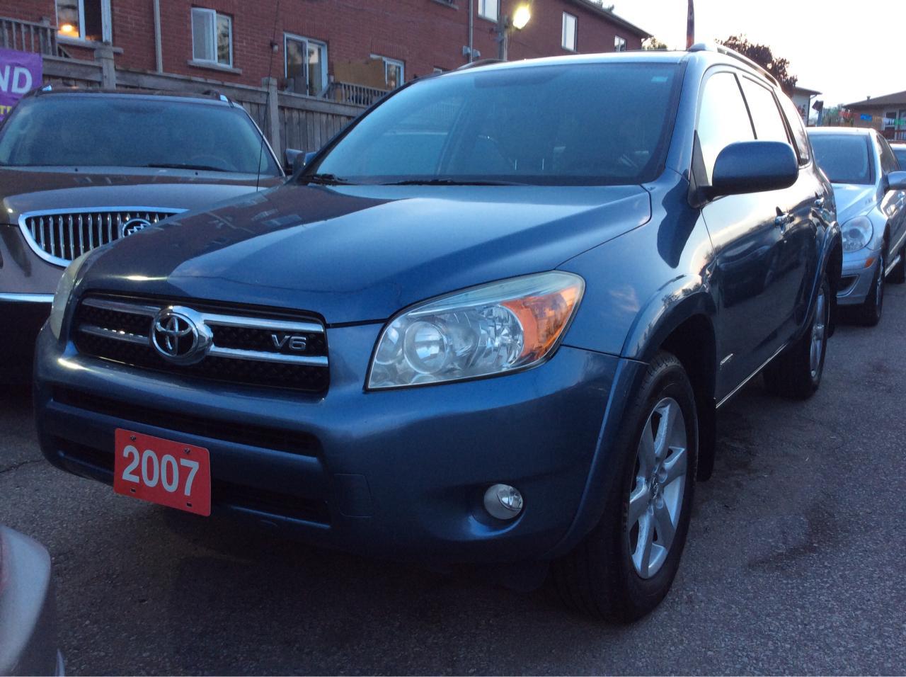 2007 Toyota RAV4 Limited/Blue Tooth/Heated Seats/Power Seat Sun Roo