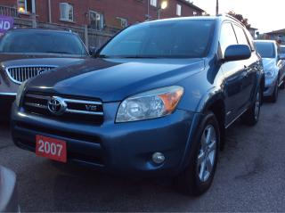 Used 2007 Toyota RAV4 Limited/Blue Tooth/Heated Seats/Power Seat Sun Roo for sale in Scarborough, ON