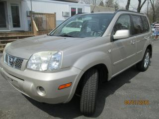 Used 2006 Nissan X-Trail 4X4 BONAVISTA-REDUCED SALE PRICE ONLY $3988.00 for sale in Scarborough, ON