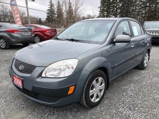 Used 2006 Kia Rio EX LOW KMS for sale in Gormley, ON