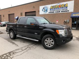 Used 2012 Ford F-150 XLT - SUPER CREW - 4X4 - MICROSOFT SYNC - ALLOYS for sale in Aurora, ON