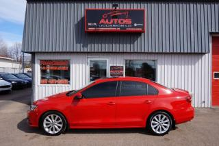 Used 2015 Volkswagen Jetta comfortline for sale in Saint-romuald, QC