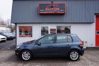 Used 2010 Volkswagen Golf 2.5l Highline Cuir for sale in Saint-romuald, QC