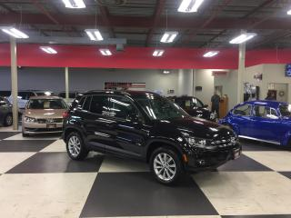 Used 2014 Volkswagen Tiguan 2.0 TSI COMFORTLINE AUT0 AWD LEATHER PANO/ROOF 66K for sale in North York, ON