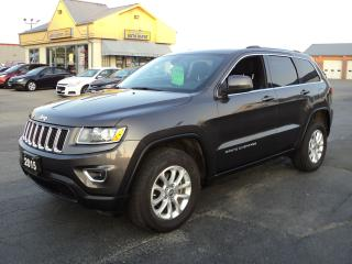 Used 2015 Jeep Grand Cherokee Laredo 4X4 3.6L GPS  Nav Bluetooth for sale in Brantford, ON