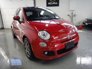 Used 2013 Fiat 500 SPORT PKG,[ROOF,LEATHER],MINT CONDITION for sale in North York, ON