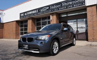 Used 2012 BMW X1 28i AWD NO ACCIDENT PANO ROOF BACK-UP CAM for sale in Mississauga, ON