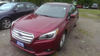 Used 2015 Subaru Legacy 2.5i w/Touring & Tech Pkg for sale in Cambridge, ON