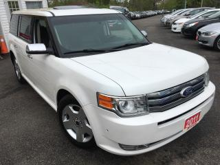 Used 2011 Ford Flex Limited/AUTO/NAVI/BACKUP CAMERA/AWD/LEATHER/S.ROOF for sale in Scarborough, ON