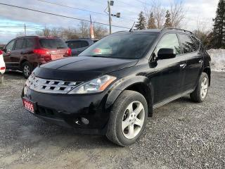 Used 2005 Nissan Murano SL POWER SUNROOF AWD for sale in Gormley, ON