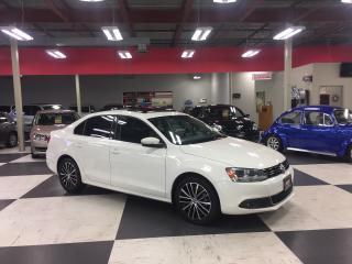 Used 2013 Volkswagen Jetta 2.5L HIGHLINE AUT0 A/C LEATHER SUNROOF 176K for sale in North York, ON