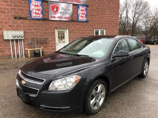 Used 2010 Chevrolet Malibu LT/ONE OWNER/NO ACCIDENT/CERTIFIED/WARRANTY INCL for sale in Cambridge, ON