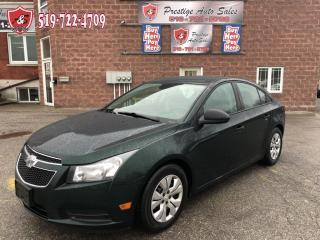 Used 2014 Chevrolet Cruze 2LS/ONE OWNER/CERTIFIED/WARRANTY INCLUDED for sale in Cambridge, ON