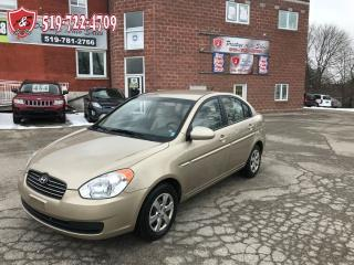 Used 2009 Hyundai Accent GL/NO ACCIDENT/CERTIFIED/WARRANTY INCLUDED for sale in Cambridge, ON