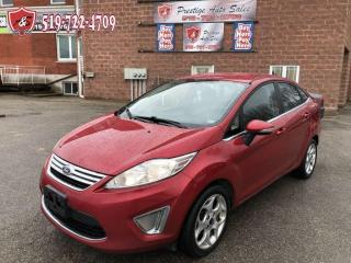 Used 2011 Ford Fiesta SEL/NO ACCIDENTS/CERTIFIED/WARRANTY INCLUDED for sale in Cambridge, ON