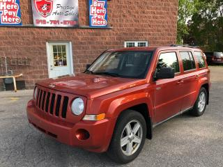 Used 2010 Jeep Patriot ONE OWNER/CERTIFIED/WARRANTY INCLUDED for sale in Cambridge, ON