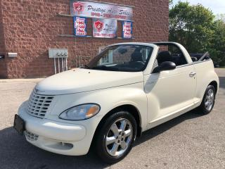 Used 2005 Chrysler PT Cruiser Touring/2.4L/TURBO/ONE OWNER/NO ACCIDENT/CERTIFIED for sale in Cambridge, ON