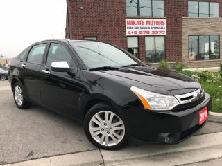 Used 2010 Ford Focus SEL for sale in Etobicoke, ON