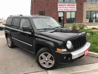 Used 2008 Jeep Patriot LIMITED for sale in Etobicoke, ON