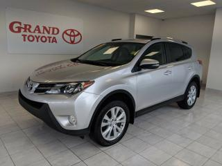 Used 2015 Toyota RAV4 LIMITED  for sale in Grand Falls-windsor, NL