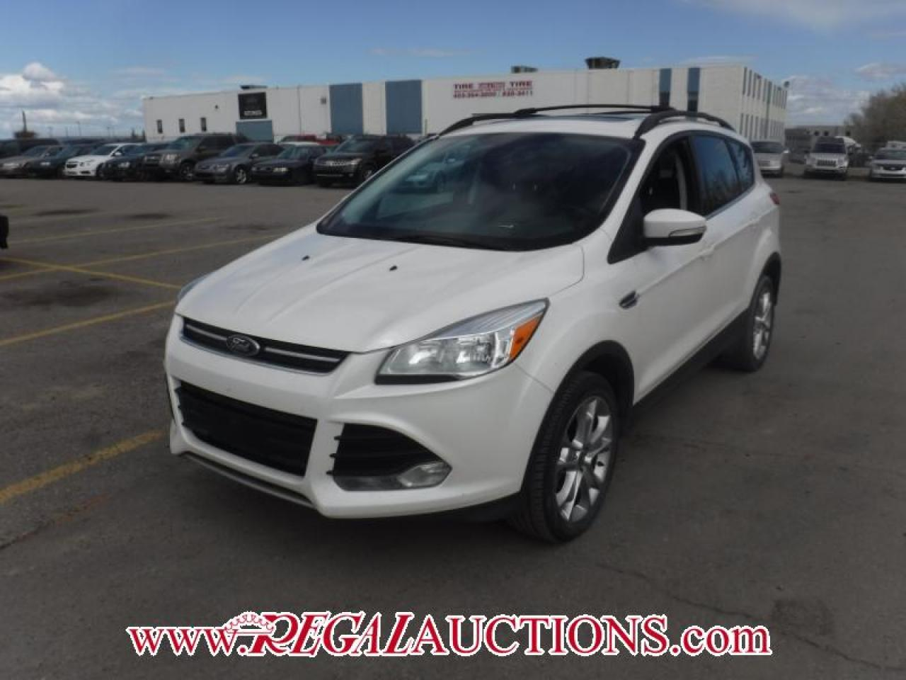 Photo of White 2013 Ford ESCAPE SEL 4D UTILITY 4WD 2.0L