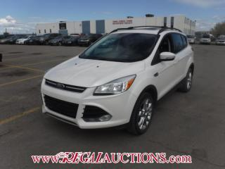 Used 2013 Ford ESCAPE SEL 4D UTILITY 4WD 2.0L for sale in Calgary, AB