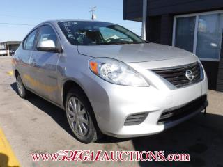 Used 2012 Nissan VERSA SV 4D SEDAN AT for sale in Calgary, AB
