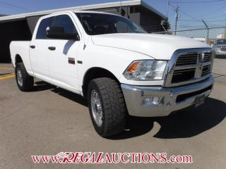 Used 2012 RAM 2500 SLT 4D CREWCAB 4WD for sale in Calgary, AB