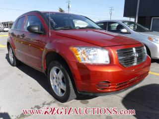 Used 2008 Dodge CALIBER SXT 4D HATCHBACK for sale in Calgary, AB