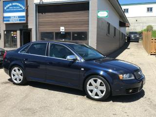 Used 2004 Audi S4 Quattro for sale in Kitchener, ON