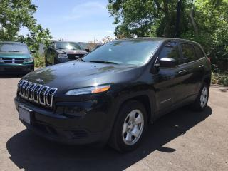 Used 2015 Jeep CHEROKEE SPORT * REAR CAM * BLUETOOTH * LOW KM for sale in London, ON