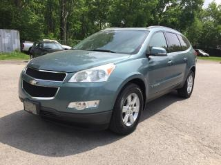Used 2009 Chevrolet TRAVERSE LT * AWD * LEATHER * REAR CAM * SUNROOF * DVD * 7 PASS for sale in London, ON