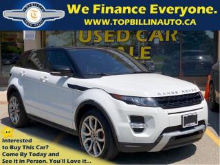 Used 2012 Land Rover Evoque LEATHER, SKY ROOF, NAVIGATION for sale in Concord, ON