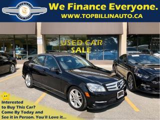 Used 2011 Mercedes-Benz C-Class C300 4MATIC, NAVIGATION for sale in Concord, ON