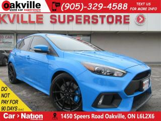 Used 2017 Ford Focus RS AWD | 6 SPEED M/T | NAV | B/U CAM | SUNROOF for sale in Oakville, ON