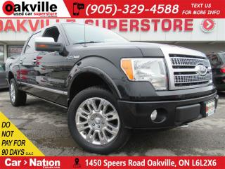 Used 2009 Ford F-150 PLATINUM | LEATHER | NAV | B/U CAM | 4X4 for sale in Oakville, ON