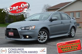 Used 2015 Mitsubishi Lancer SE LIMITED SUNROOF HTD SEATS ALLOYS ONLY 49, 000 K for sale in Ottawa, ON