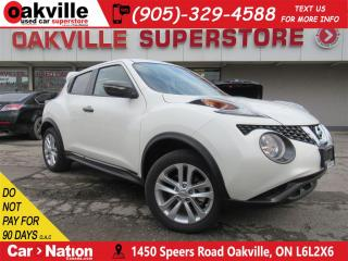 Used 2017 Nissan Juke SV | BRAND NEW NEVER SOLD | B\U CAM | B\T for sale in Oakville, ON