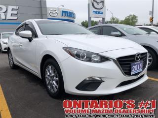 Used 2015 Mazda MAZDA3 GS SKYACTIV/HEATED SEATS / 1.99% C.P.O!!! TORONTO for sale in North York, ON