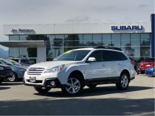 Used 2014 Subaru Outback 2.5i Convenience Pkg w/PZEV for sale in Port Coquitlam, BC