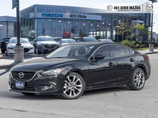 Used 2015 Mazda MAZDA6 GT FINANCE AVAILABLE| NO ACCIDENTS| LEATHER UPHOLS for sale in Mississauga, ON