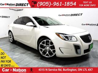 Used 2012 Buick Regal GS| LEATHER| SUNROOF| PUSH START| for sale in Burlington, ON