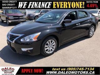 Used 2014 Nissan Altima 2.5 S| BACKUP CAMERA| BLUETOOTH| SAT RADIO for sale in Hamilton, ON